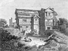 View: c06275 Odd Rode: Print of Little Morton Hall