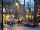View: c11595 Chester: Christmas market in Town Hall Square