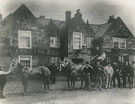 View: c12737 Frodsham: Bears Paw and Railway Hotel