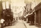 View: c13431 Macclesfield: Chestergate, Queen Victoria's Jubilee Day
